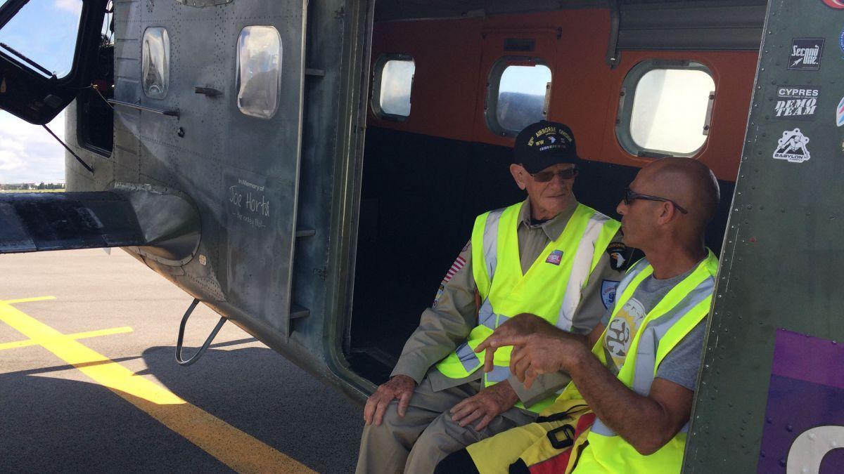 Atlas Parachutisme accompagne Tom Rice dans son saut historique Actualité - Atlas Parachutisme