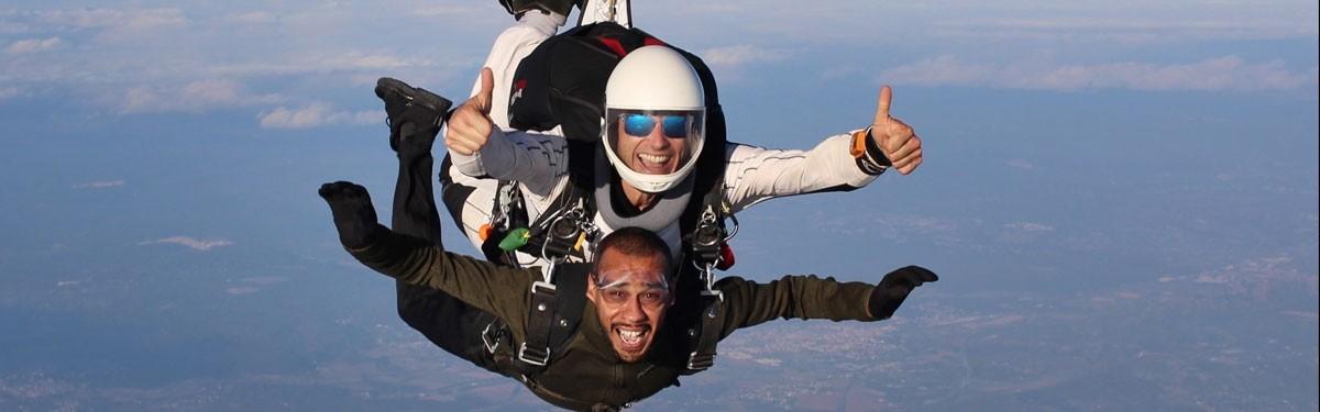Le saut TANDEM à Tallard Produit - Atlas Parachutisme