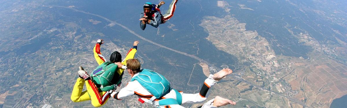 Saut en parachute Initiation PAC Gap-Tallard Produit - Atlas Parachutisme