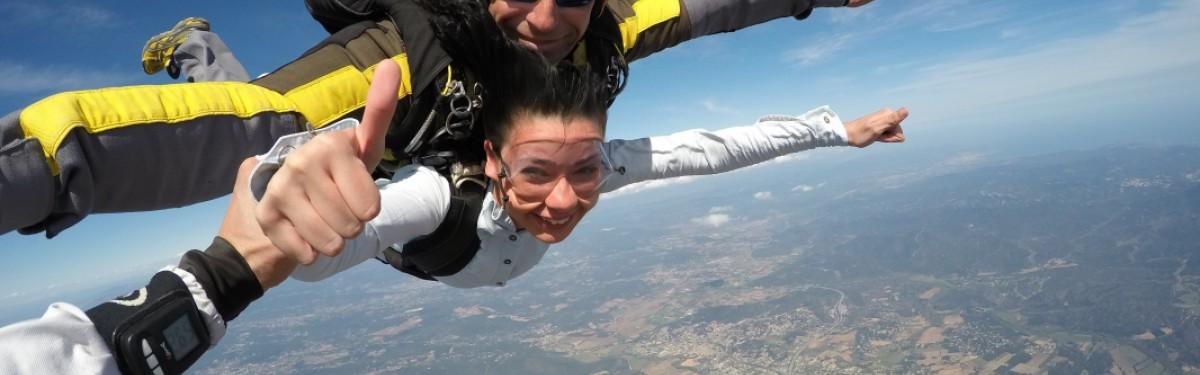 Saut TANDEM Luc en Provence Produit - Atlas Parachutisme